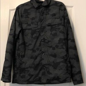 Old Navy Green Camo Windbreaker